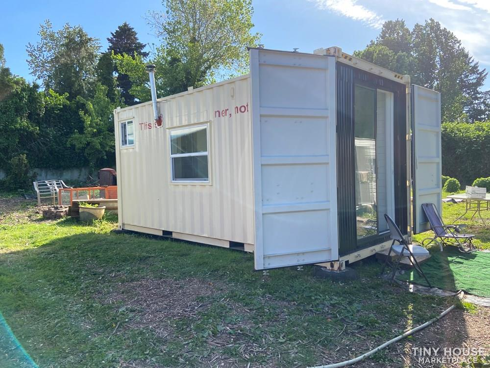 Custom 180 SQ FT Shipping Container Tiny Home