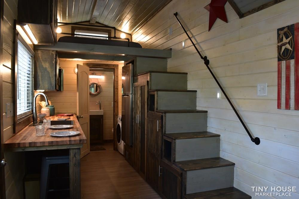 Custom 8x24 Tiny House On Wheels