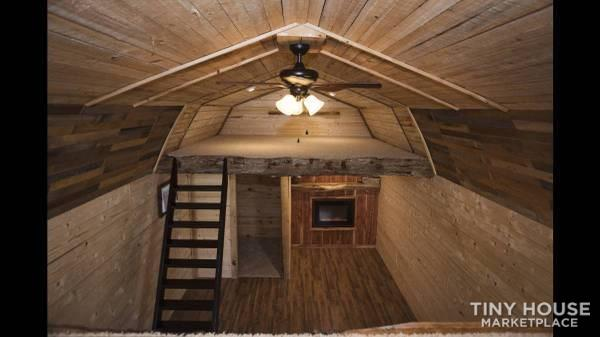 Custom Rustic Tiny Home by Matthew Womack