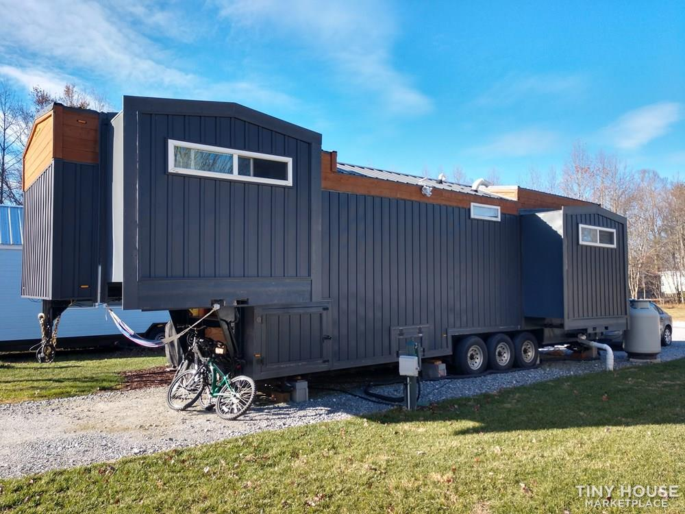 Custom Tiny House with Slide Outs in Gated Tiny House Community 2