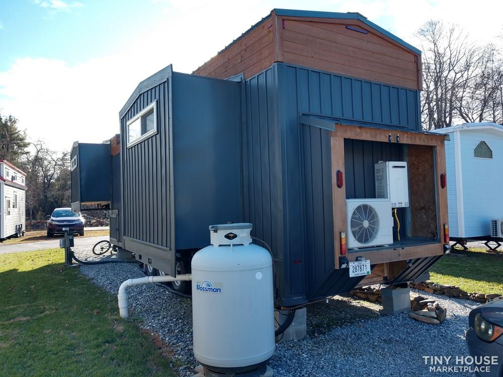 Custom Tiny House with Slide Outs in Gated Tiny House Community 3
