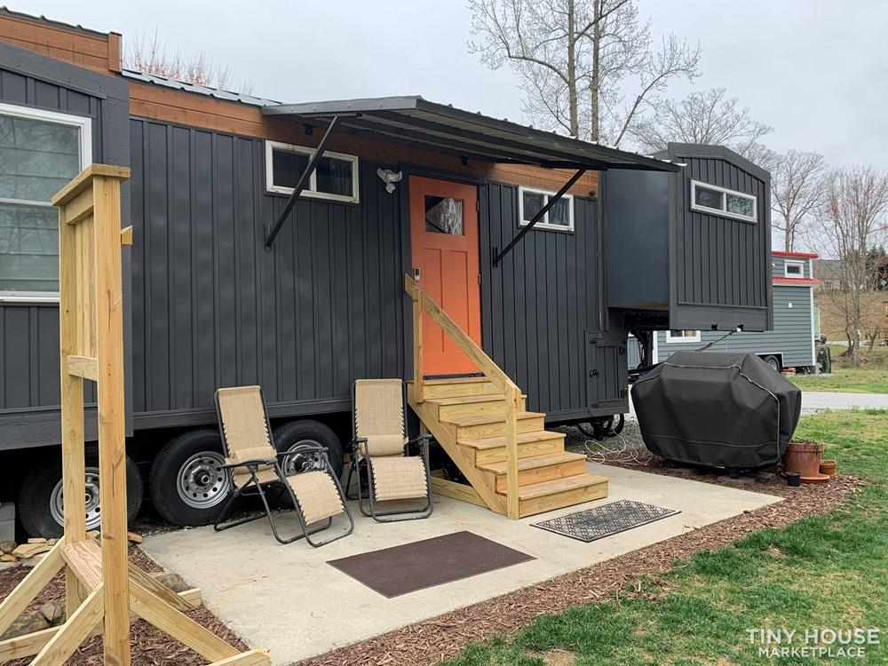 Custom Tiny House with Slide Outs in Gated Tiny House Community