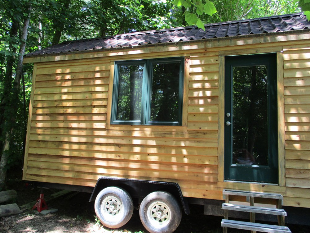 8' x 20' Dry-in Tiny House on Wheels in Flat Rock, NC
