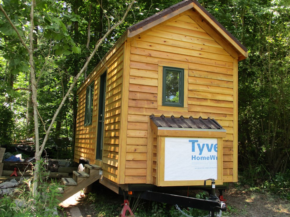 8' x 20' Dry-in Tiny House on Wheels in Flat Rock, NC 2