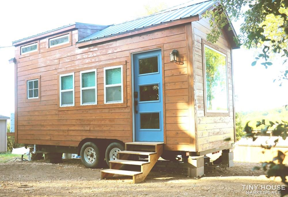 Cozy Cedar Tiny Home on Wheels 11
