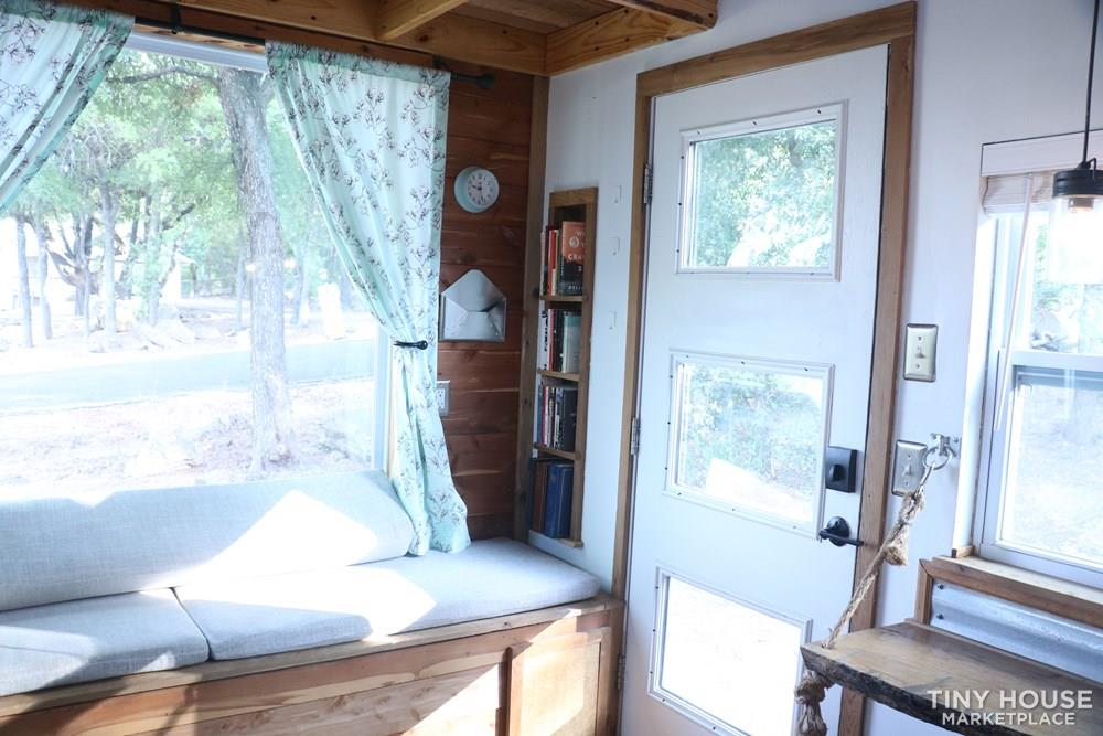 Cozy Cedar Tiny Home on Wheels 8