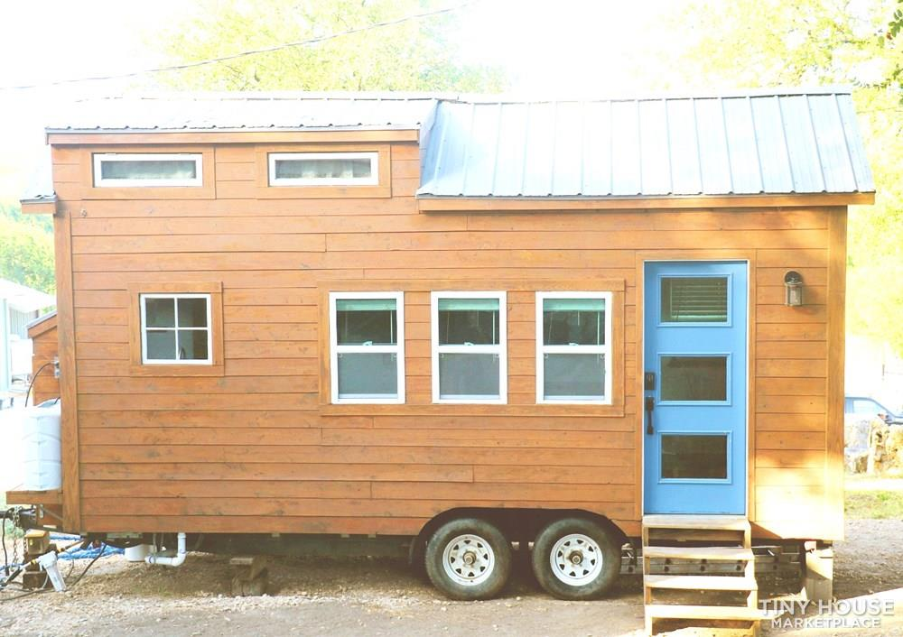 Cozy Cedar Tiny Home on Wheels 1