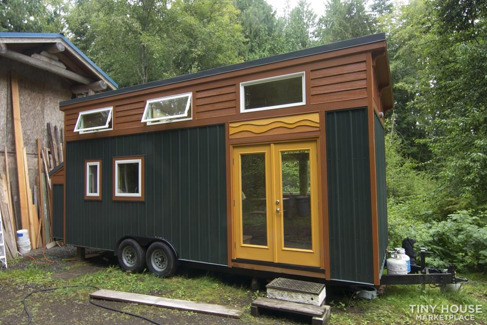 "Exceptional Quality 8' 6"" X 26"" Custom Tiny Home on Wheels"