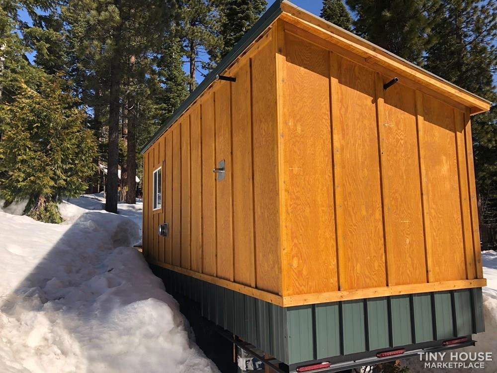 "Finished ""Made for Big Winters"" Tiny House For Sale 2"