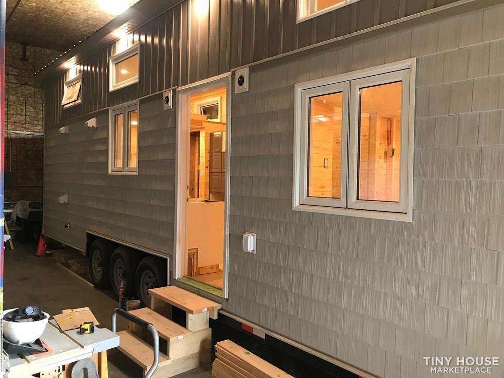 For sale is a gorgeous, hand-crafted Tiny Home