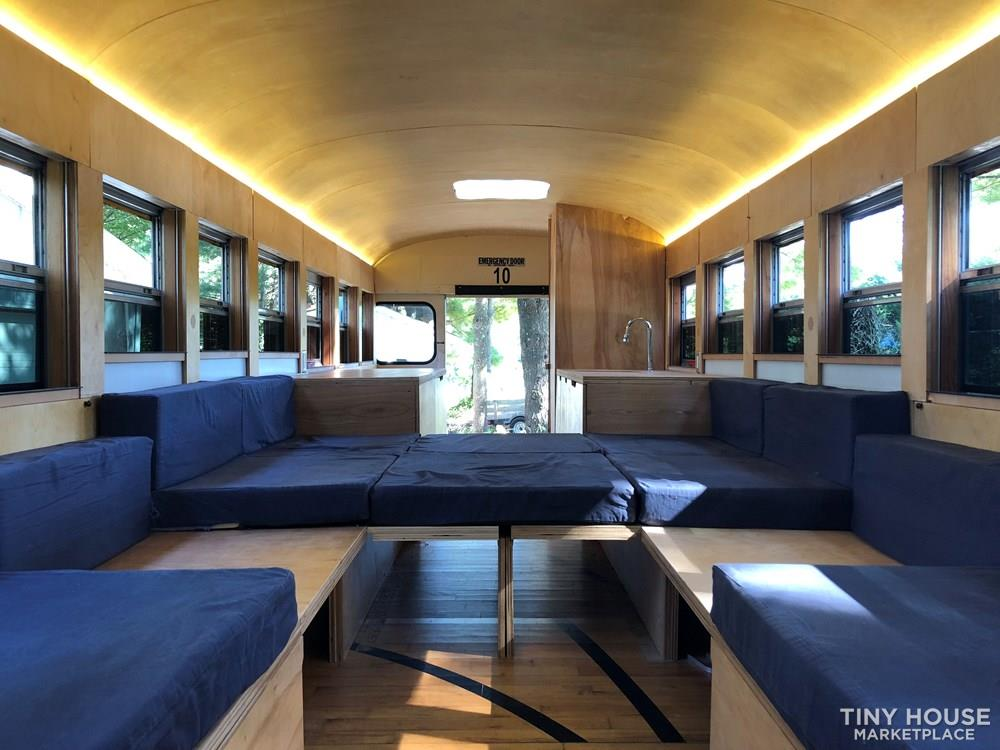 Hank Bought a Bus - widely shared bus conversion - FOR SALE $12,000 OBO 3