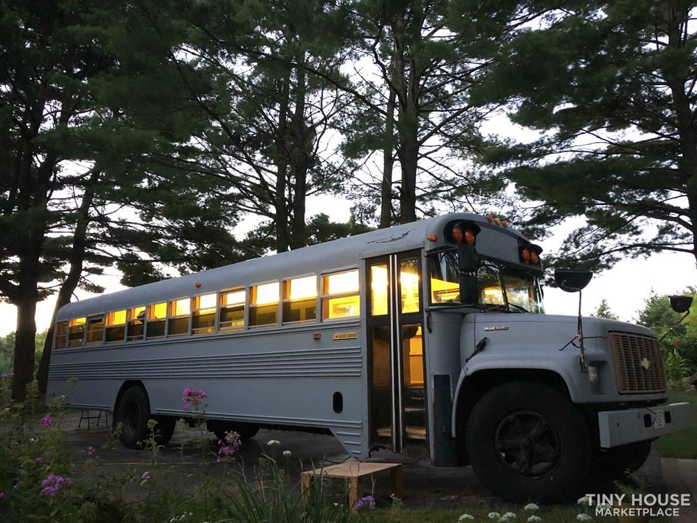 Hank Bought a Bus - widely shared bus conversion - FOR SALE $12,000 OBO 2