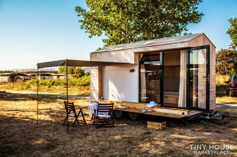 Koleliba - Sample tiny house 2.2x4.5m 1