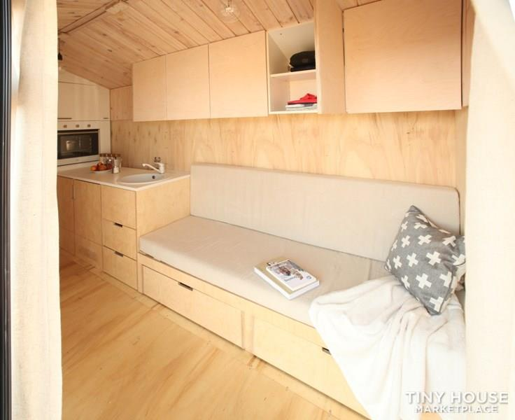 Koleliba - Sample tiny house 2.2x4.5m 4