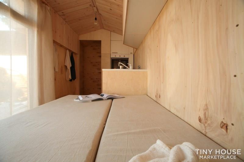 Koleliba - Sample tiny house 2.2x4.5m 11