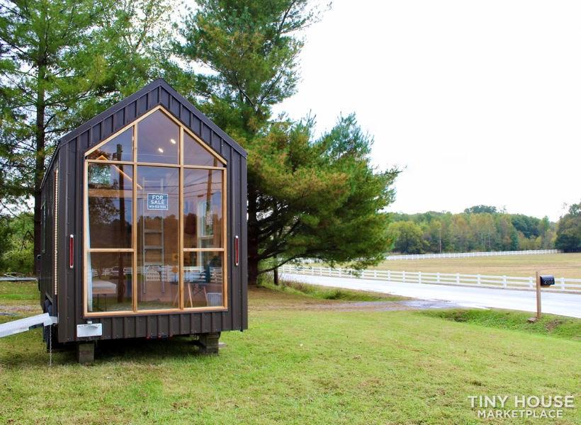 This Lightweight Custom Tiny Home is Beautiful, Spacious and Easy to Pull.  1