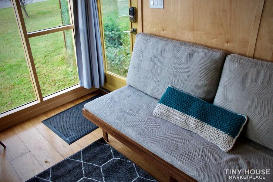 This Lightweight Custom Tiny Home is Beautiful, Spacious and Easy to Pull.  3