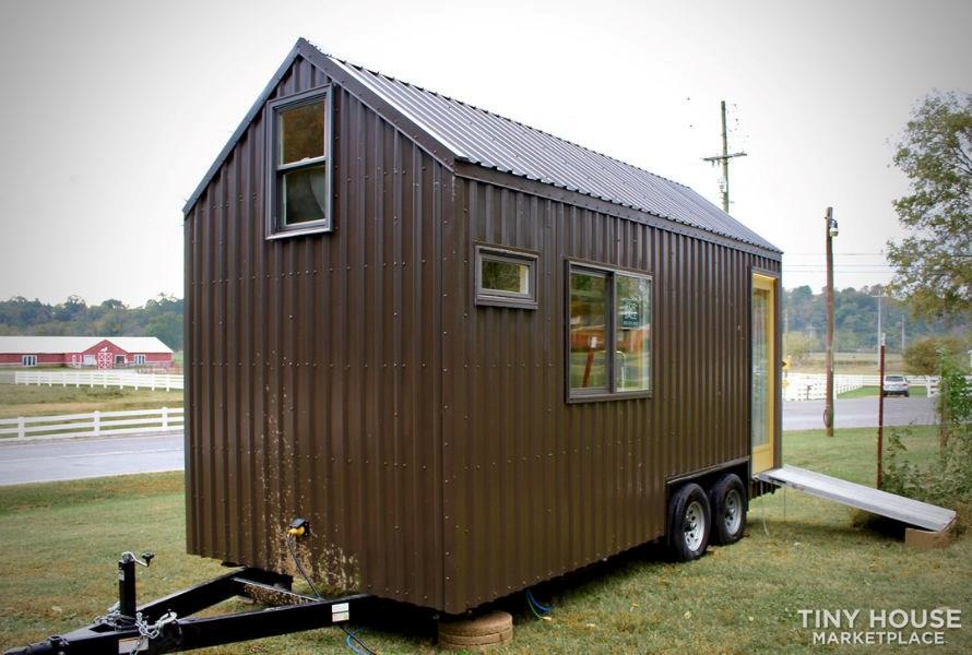 This Lightweight Custom Tiny Home is Beautiful, Spacious and Easy to Pull.  9