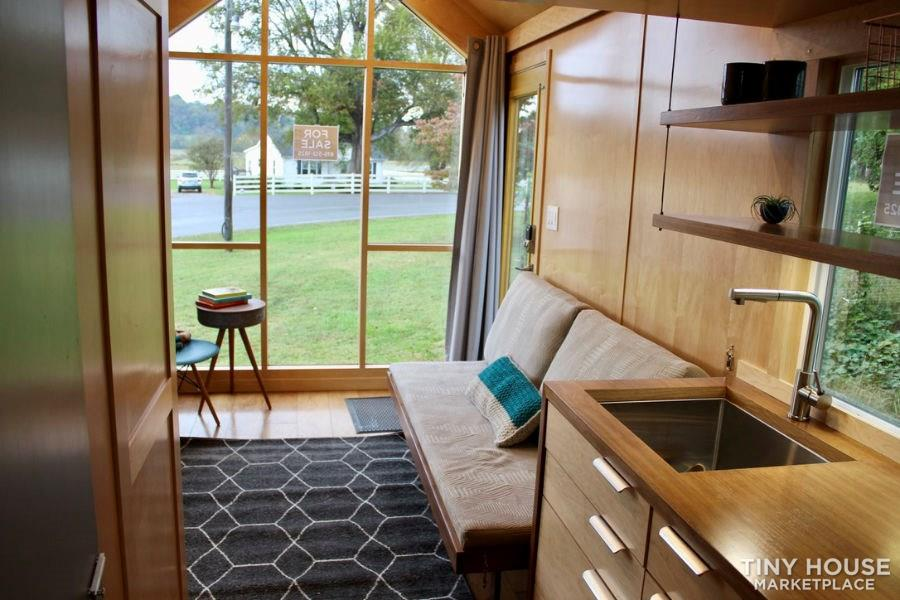 This Lightweight Custom Tiny Home is Beautiful, Spacious and Easy to Pull.  11
