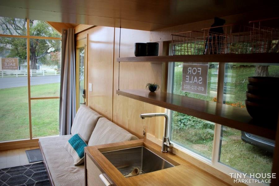 This Lightweight Custom Tiny Home is Beautiful, Spacious and Easy to Pull.  32