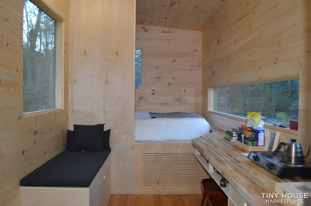 Minimalist Tiny House on Wheels in New York