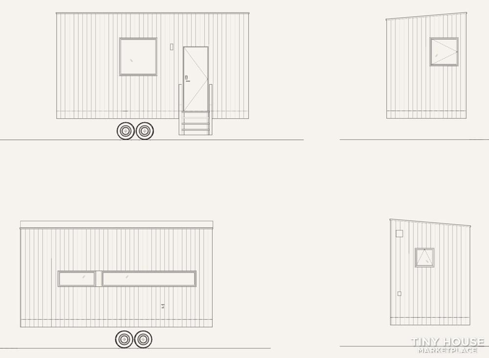 Minimalist Tiny House on Wheels in New York 10