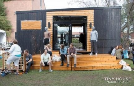 Mobile Store Tiny House 8