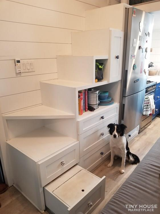 Modern Tiny Home with Closet and Office Space  8