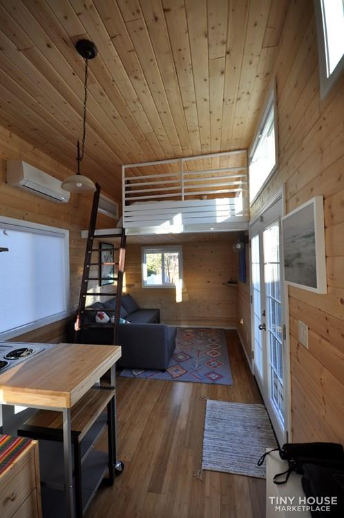 Modern Tiny Home WIth Trailer