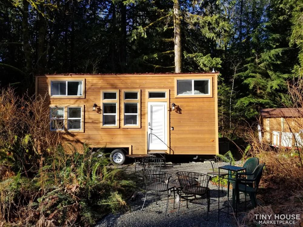 Modern Tiny House in the Woods