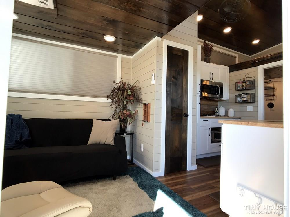 NEW 34' x 10' Tiny House Incredibly Spacious Layout, Bottom bedroom with 3 Lofts 5