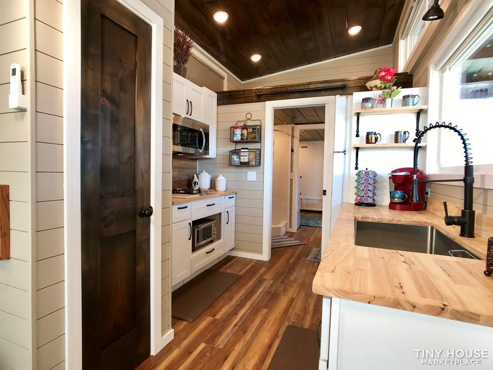 NEW 34' x 10' Tiny House Incredibly Spacious Layout, Bottom bedroom with 3 Lofts 8