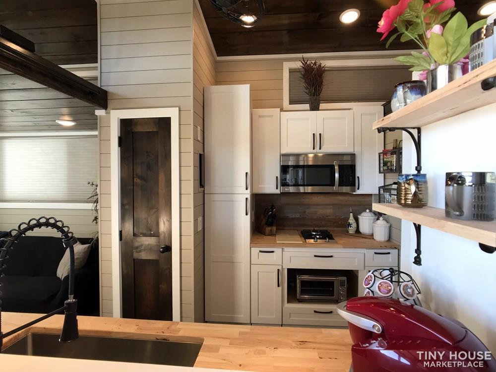 NEW 34' x 10' Tiny House Incredibly Spacious Layout, Bottom bedroom with 3 Lofts 9