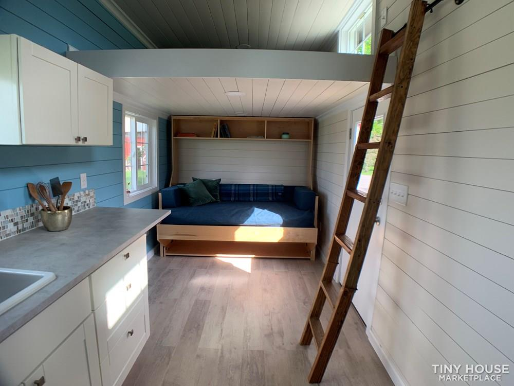 New Tiny House on wheels 170 sqft two lofts working kitchen bathroom 6