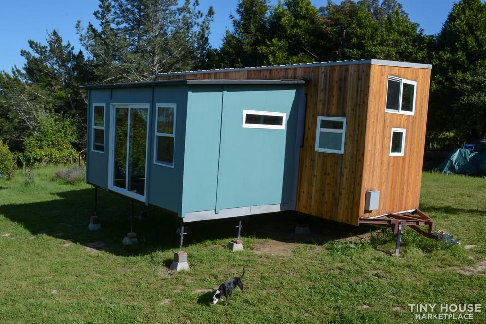 Not so tiny house: introducing the expandable, movable Wing Suite 1