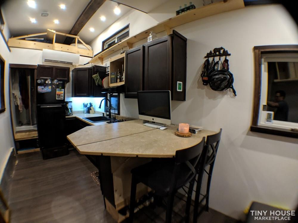 Off-Grid 32' Tiny House On Wheels For Sale 4