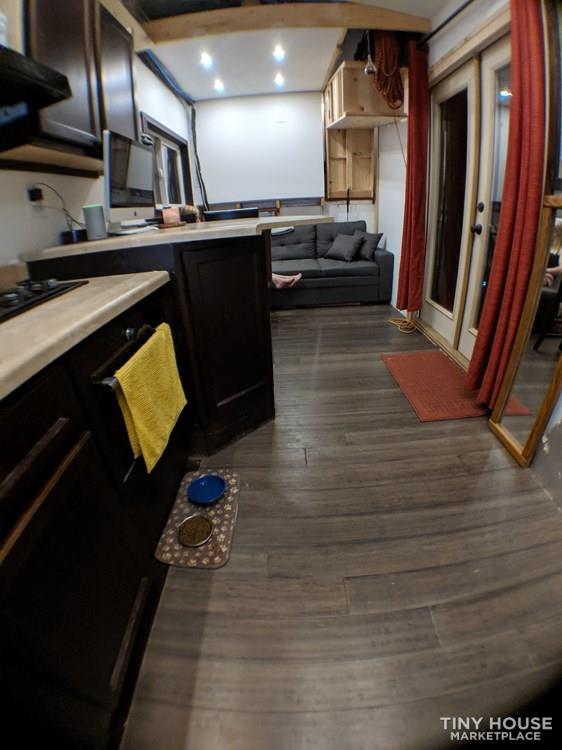 Off-Grid 32' Tiny House On Wheels For Sale 5