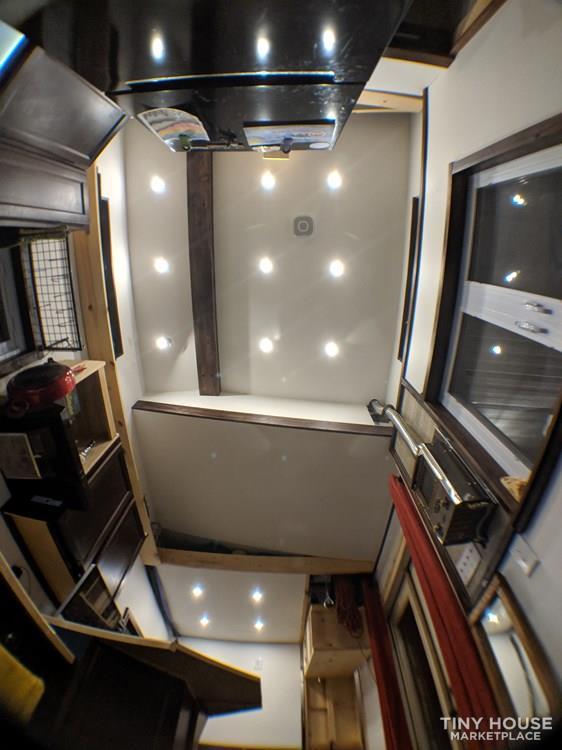Off-Grid 32' Tiny House On Wheels For Sale 8
