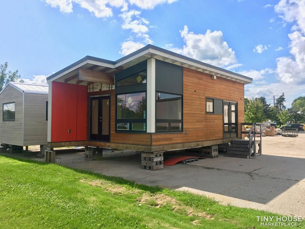 Finish this nearly completed oversized tiny home to your tastes!