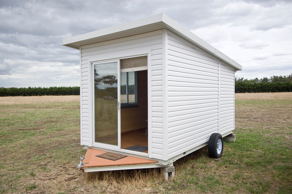 pre fab home mobile luxury prefabricated tiny house trailer on wheels