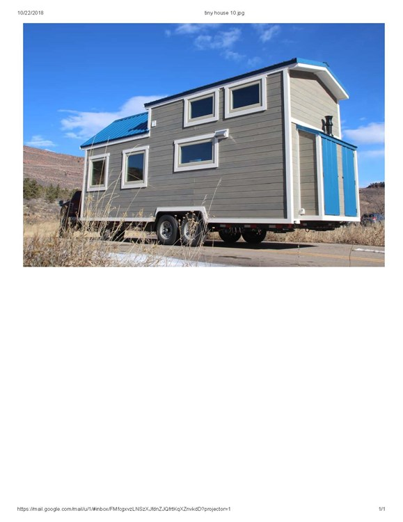 Professionally Built Tiny Home 2