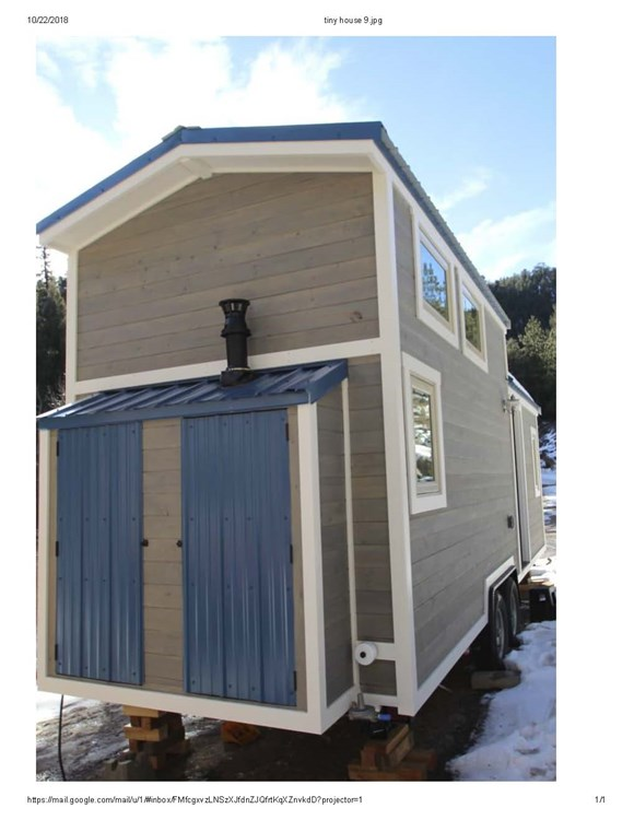 Professionally Built Tiny Home 1