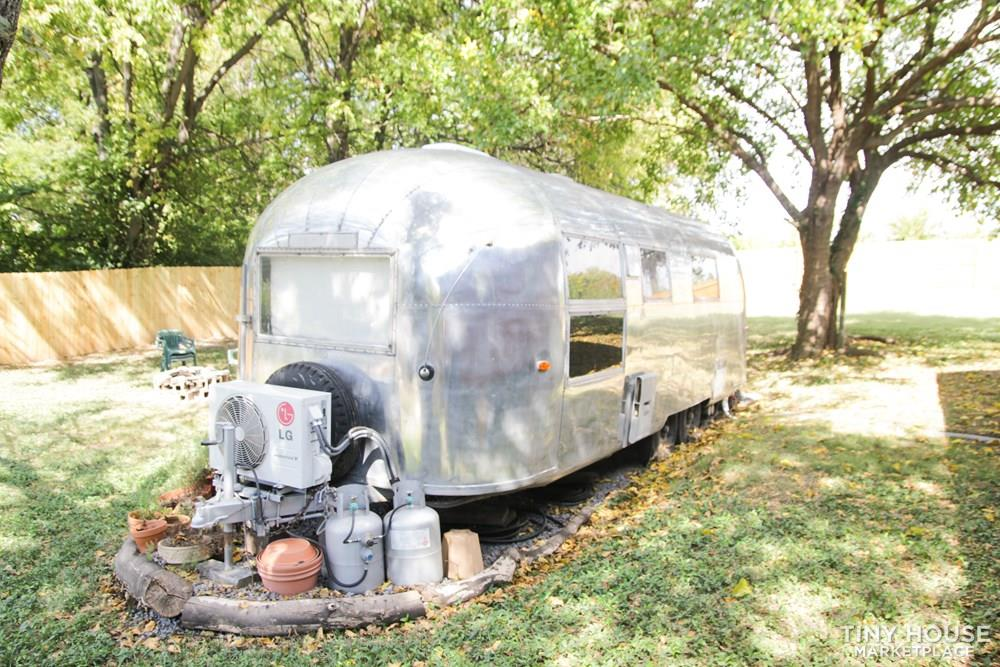 Restored Vintage 1963 Airstream Overlander - alternative Tiny House