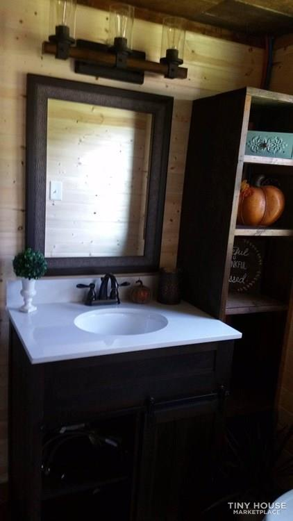 Rustic Luxury Tiny Home 10