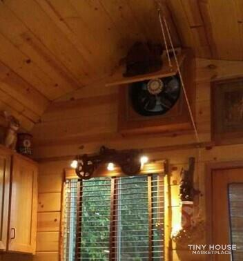 Rustic & Roomy Tiny Home 3