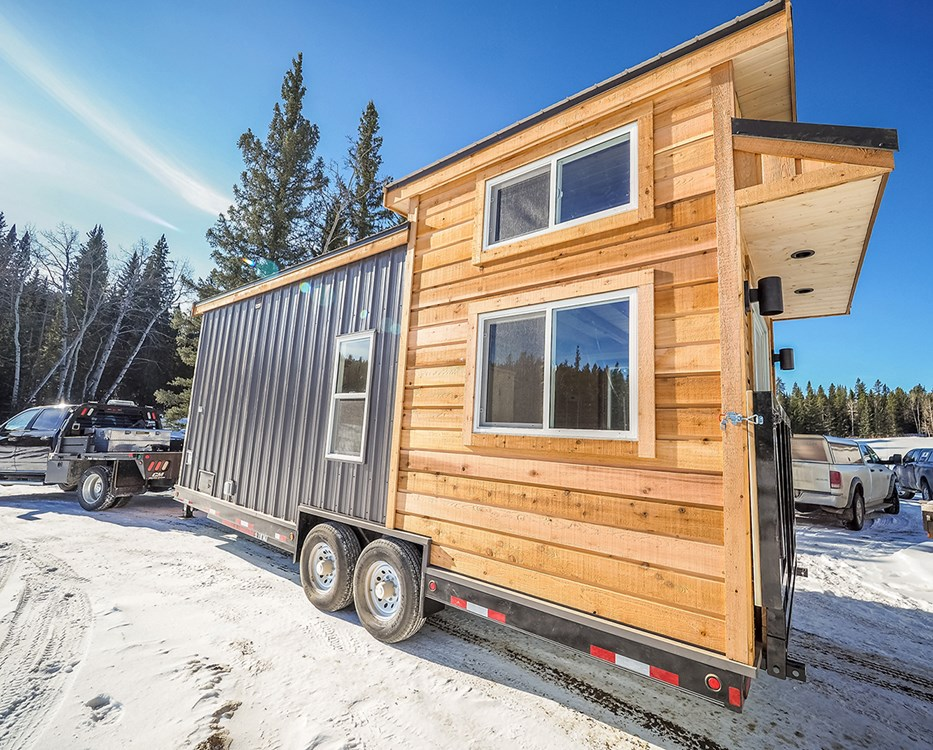 The Crow Off Grid Cabin Edition by Blackbird Tiny Homes