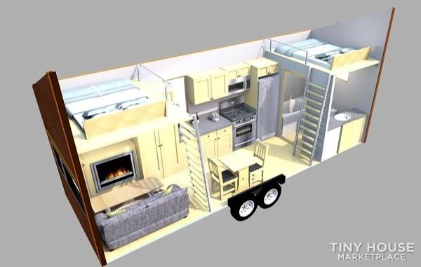 Tiny House For Sale Tiny House On Wheels Rvia Certified