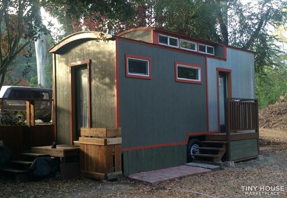 Unique, bright tiny house on wheels for sale 2
