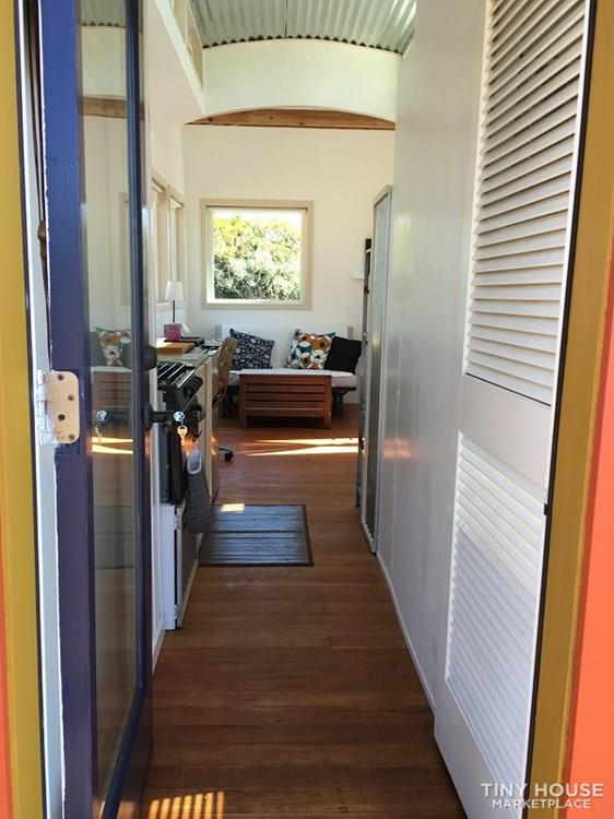 Unique, bright tiny house on wheels for sale 4