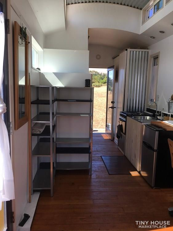 Unique, bright tiny house on wheels for sale 7